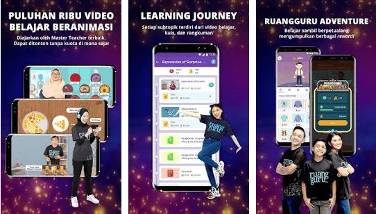 5 aplikasi belajar online