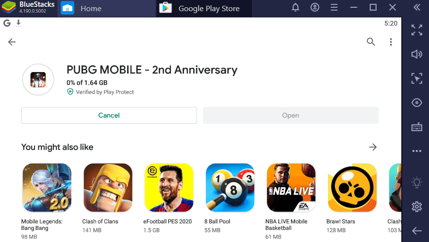 instal game