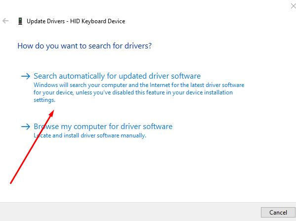 cara update driver