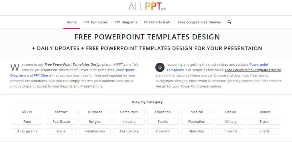 Situs Download Template Powerpoint Ppt Terbaik