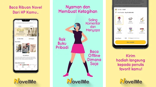 aplikasi baca novel gratis