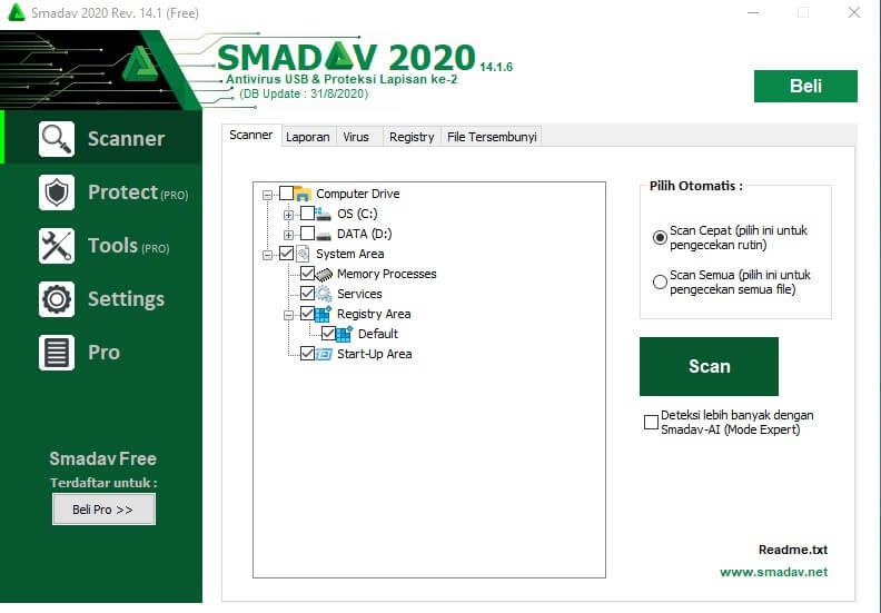 Aplikasi Smadav