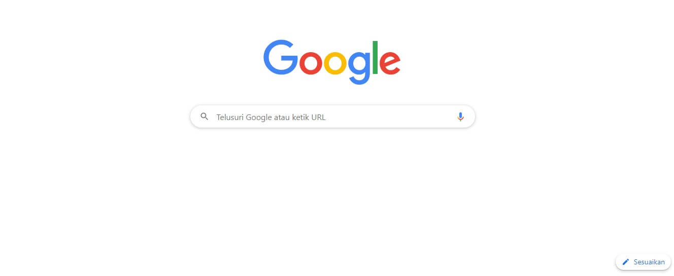 Cara Mengganti Tema Google