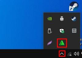 show hidden icons
