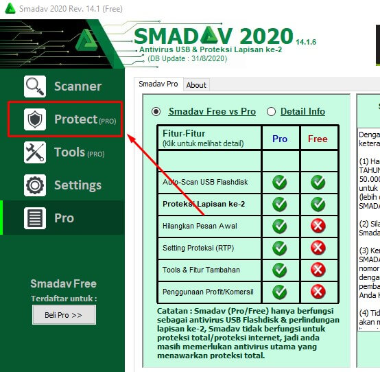 Cara Menonaktifkan Smadav Antivirus di Laptop dan Komputer