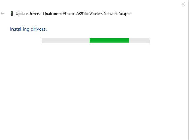 Installing driver
